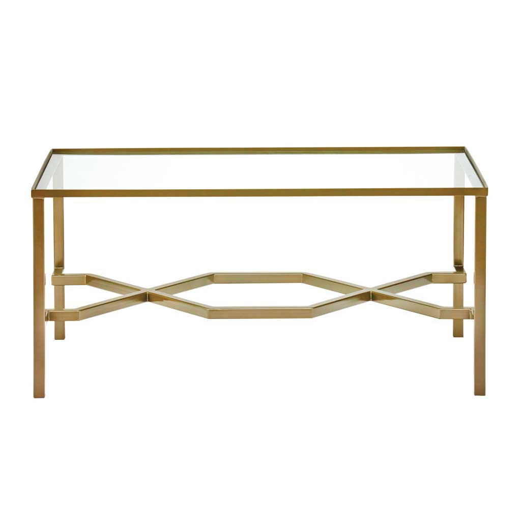 Lucy Mirrored Coffee Table: Borchard Coffee Table