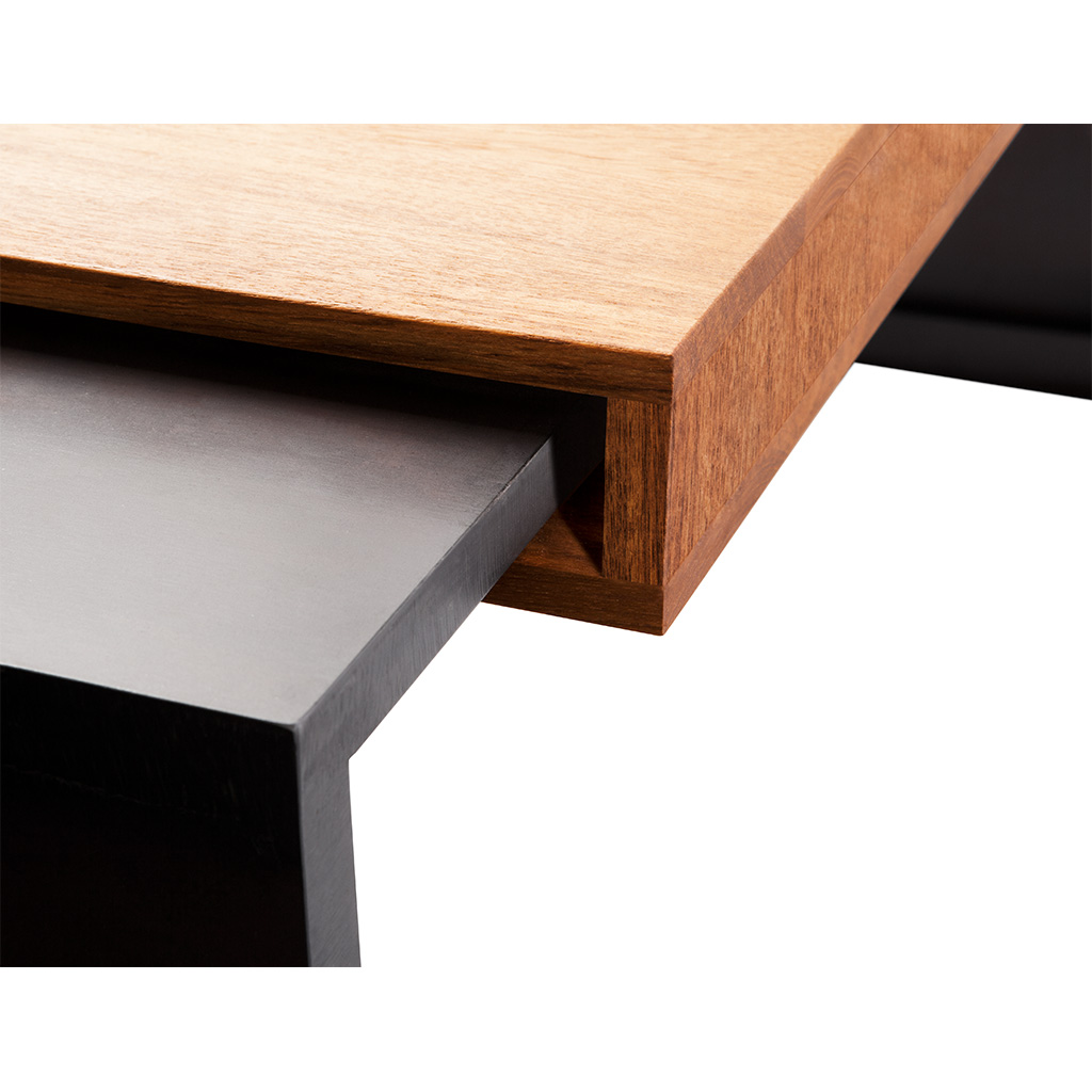 Atlas Bench Wood Wrapped Deaurora Showroom